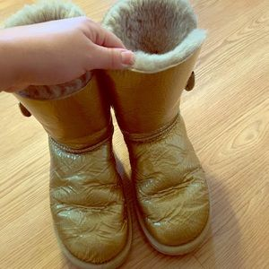 Gold Ugg Boots